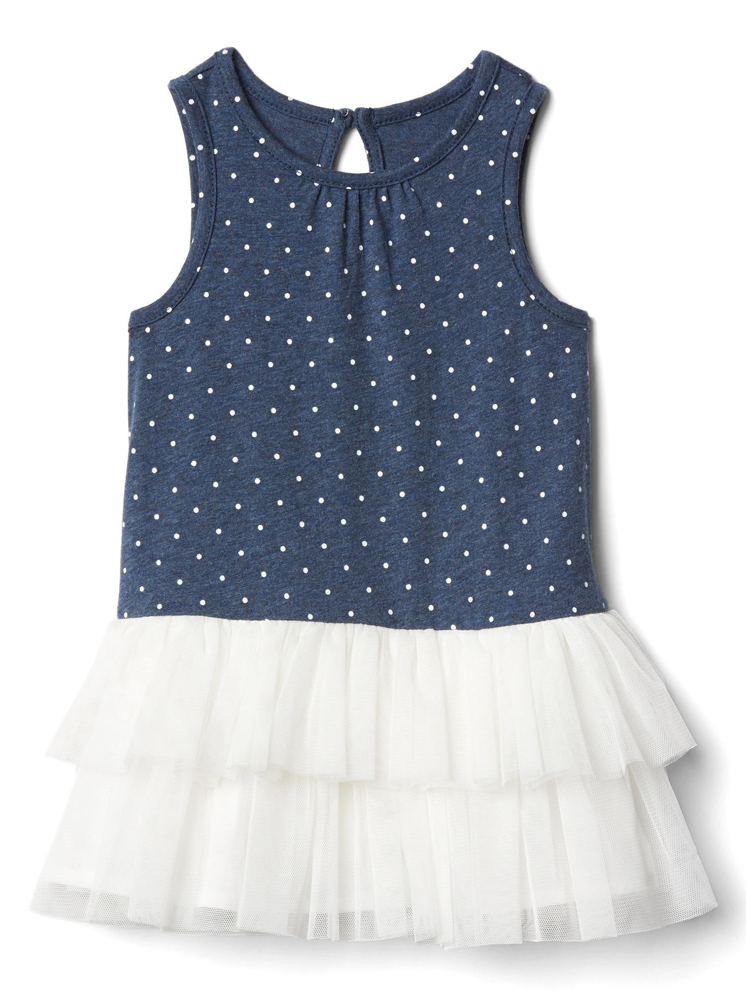 Polka dot tutu dress Gap Baby Girl Pinterest