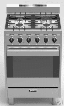 Smeg C24ggxu Convection Oven Real Kitchen Gas Range