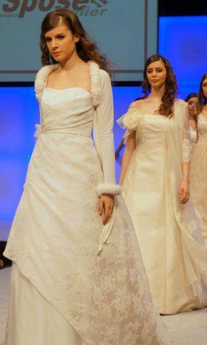 6b39eb7cb758 Abiti da sposa e da cerimonia Blu Spose Atelier Sfilata Bergamo Sposi 2015