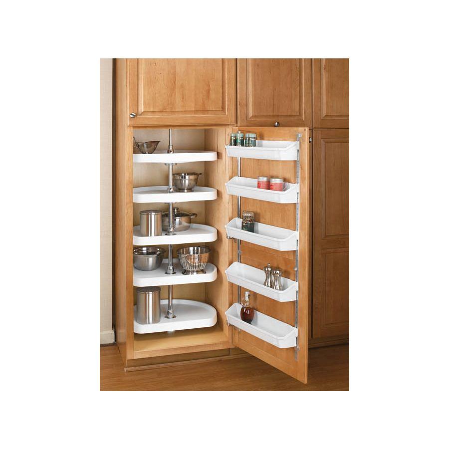 Best Rev A Shelf 2 Tier Plastic D Shape Cabinet Lazy Susan 400 x 300