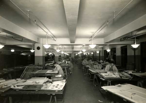 Architecture Class At The Schoolu0027s Midtown Center #history
