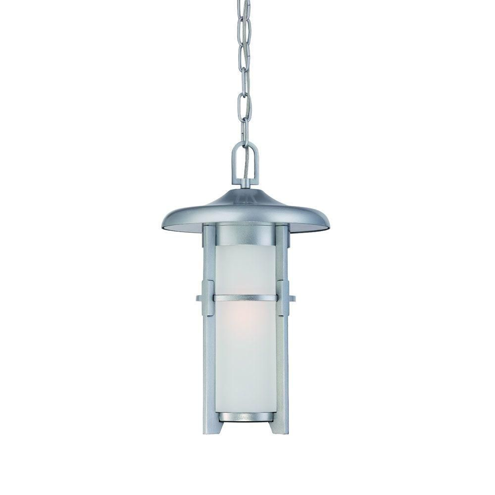 Luma collection brushed silver outdoor hanging light fixture products luma collection brushed silver outdoor hanging light fixture arubaitofo Images