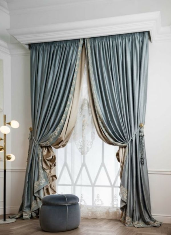 35 creative ways to hang curtains like a pro decoration - Unique ways to hang curtains ...