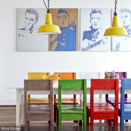 Selbstgebaute Stühle aus Paletten Haus interieurs, Haus