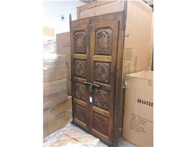 Uhw India Living Room Set Of Antique Doors On Stand Uhw New1 At United House Wrecking At United House Wr Antique Doors Living Room Accessories Living Room Sets
