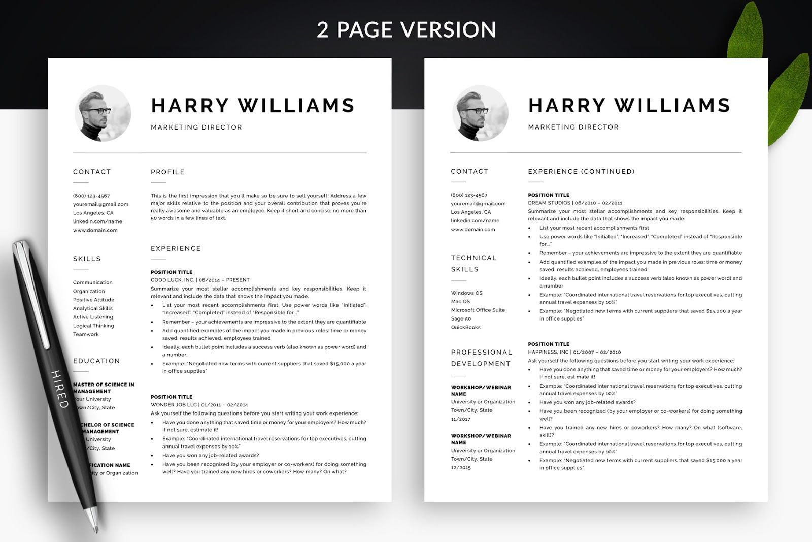 Apple Pages Resume Templates 2019 For Pages Resume 2020
