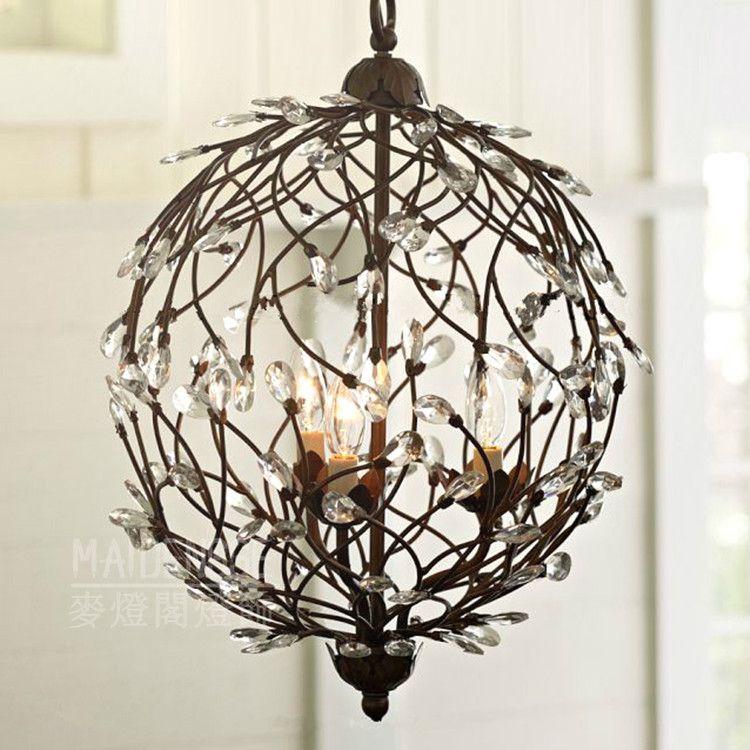 Modern Home Decoration Crystal Flower Chandelier Dining Room Light Cafe Bar Dia330mm Ac90 260v Free