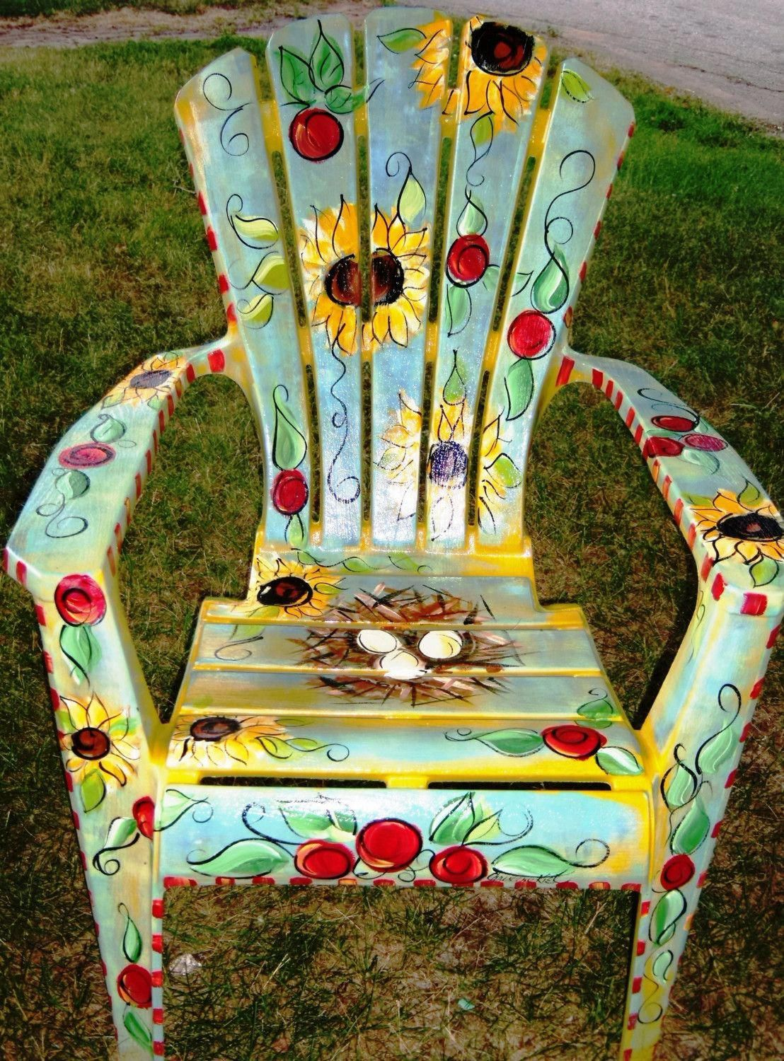 Funky Decor, a must read pin transformation, funky home decor thrifty stores number 4252303413 funkyhomedecorthriftystores is part of Hand painted chairs -