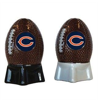 Chicago Bears Football Salt and Pepper Shaker Set