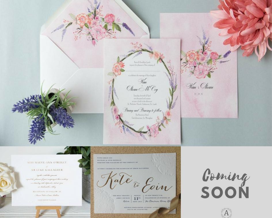 coming soon, new designs, signature range   Signature Range: Wedding ...