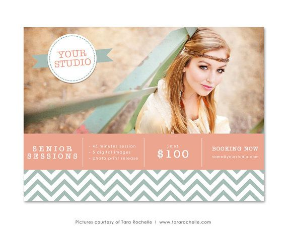 marketing board mini session 5x7 newsletter template photography