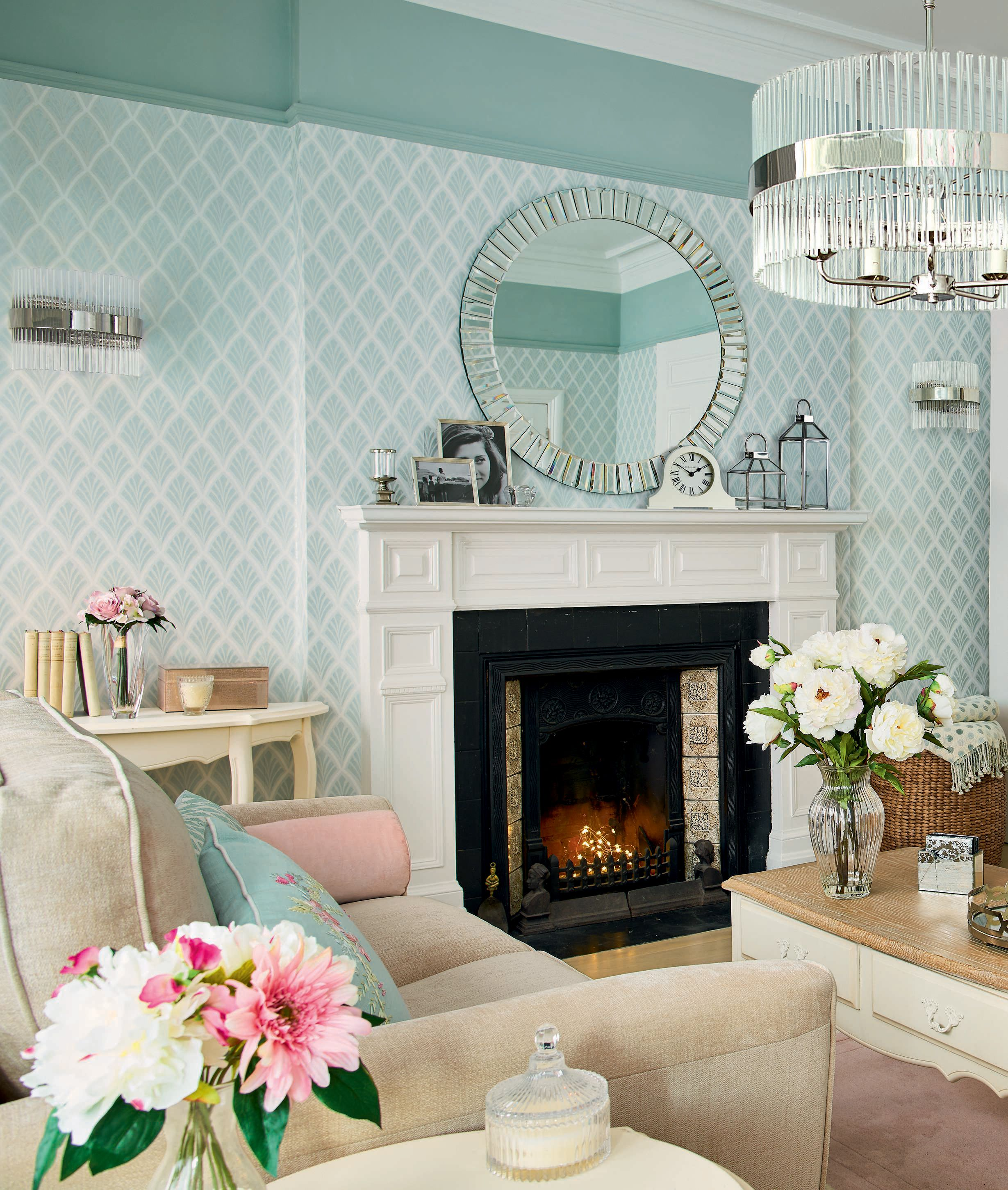 Introducing pastel colours into your interiors can help