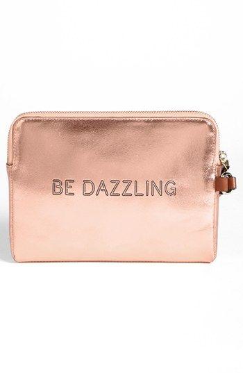 hot sale online b49f2 cd3e6 kate spade new york 'be dazzling' iPad mini sleeve | Nordstrom ...