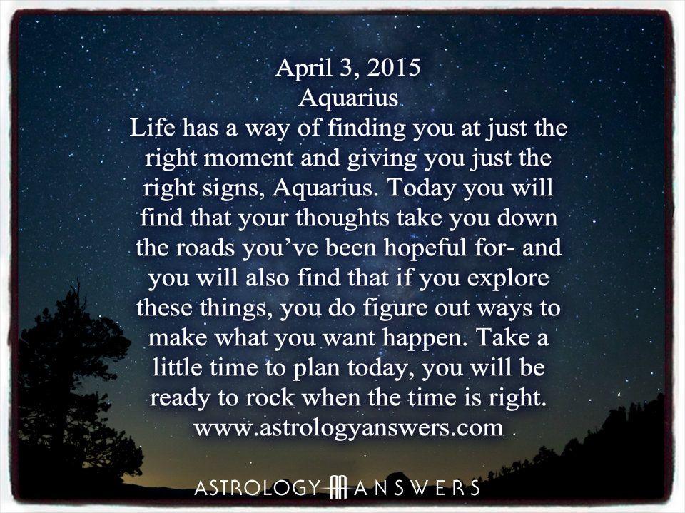 aquarius daily horoscope march 13
