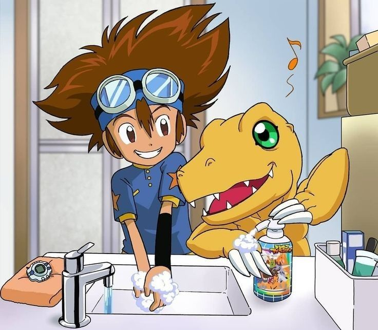 Pin by anonymous on taichi u co in 2020 digimon