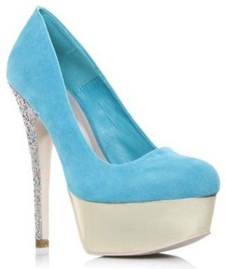713e1d5fa69b ShopStyle  Blue Ramona High Heel Shoes