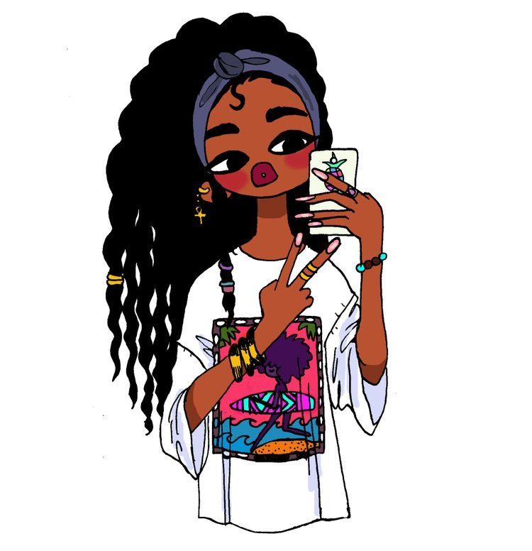 Pin By Lilbaby On Wallpaper Black Girl Art Black Girl Cartoon Black Women Art