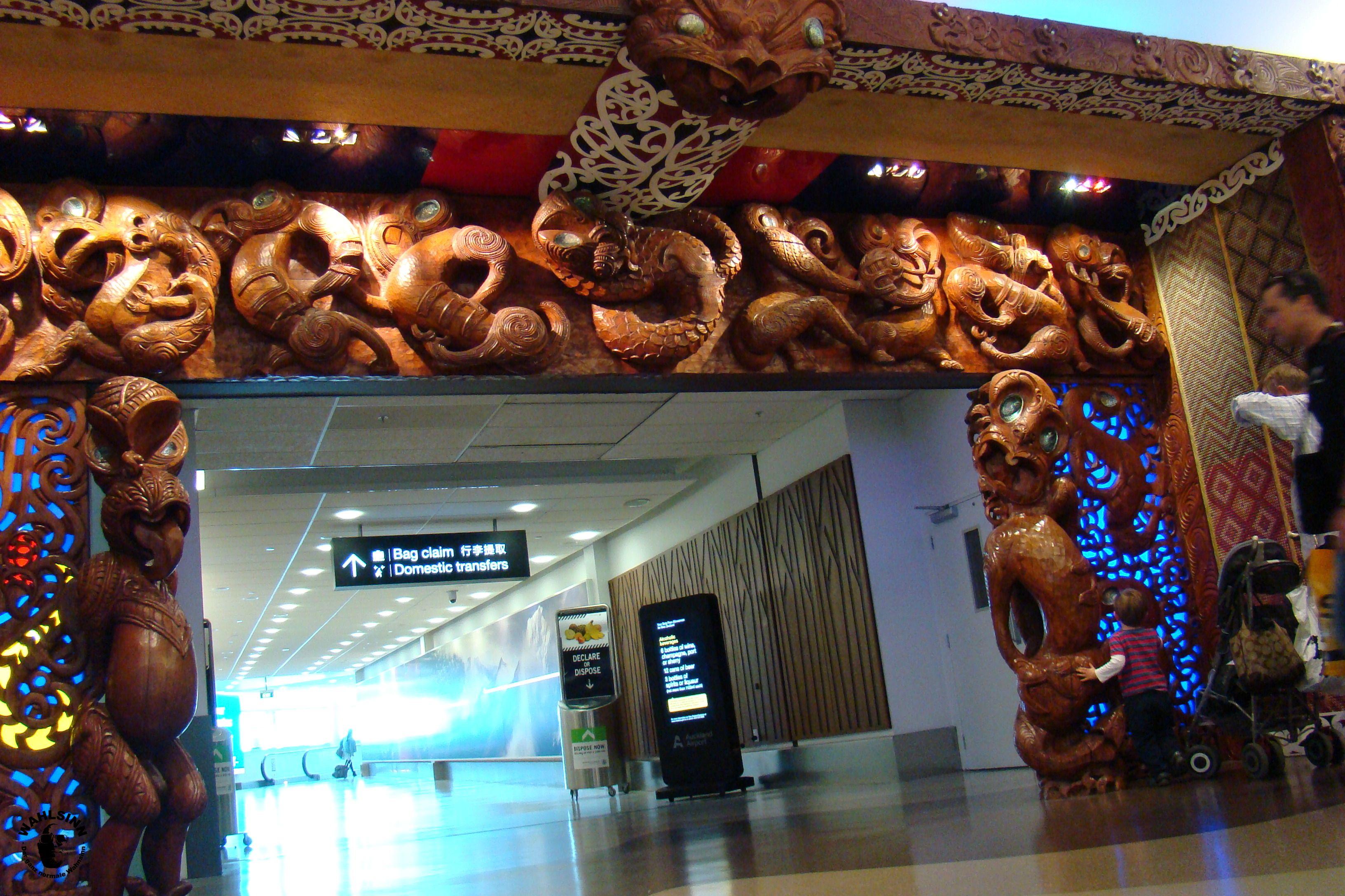 Neuseeland - Flughafen Auckland