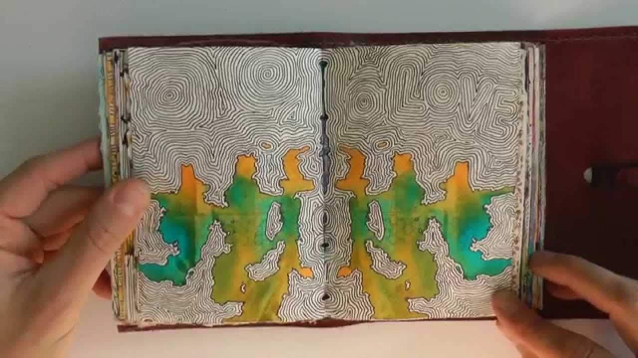 Mein Zeichentagebuch 1 My Drawing Diary 1 Ulrike Hirsch