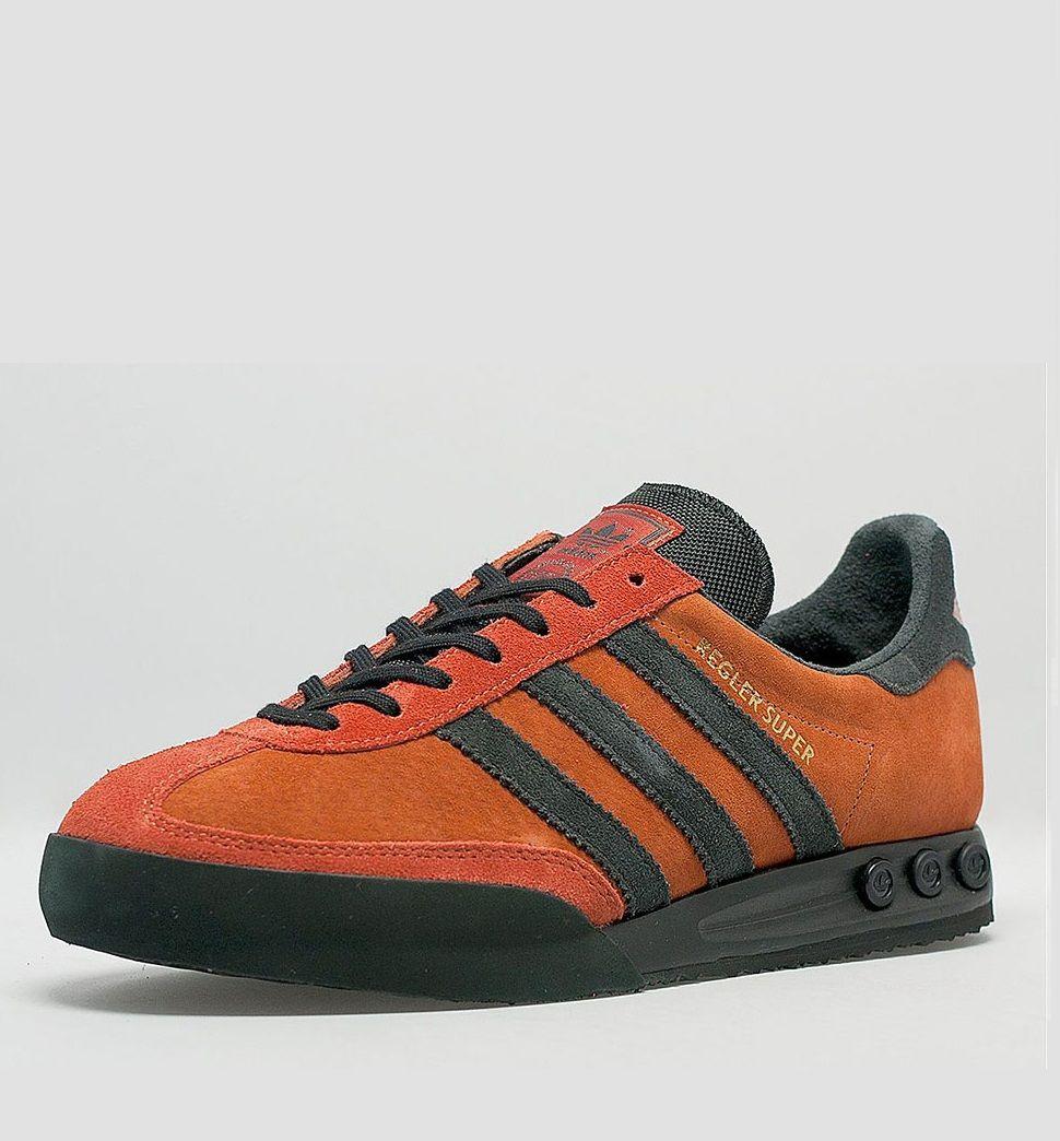 Size? x adidas Originals Kegler Super: Fox Red/Black. Adidas SneakersMen's  ...
