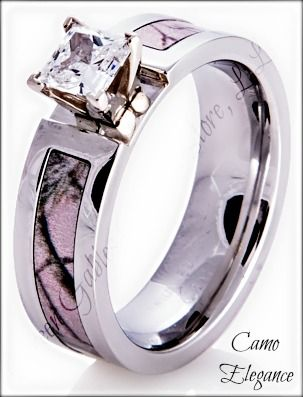 Cheap Camo Wedding Rings for Him and Her Fresh Stunning Pink Camo ...