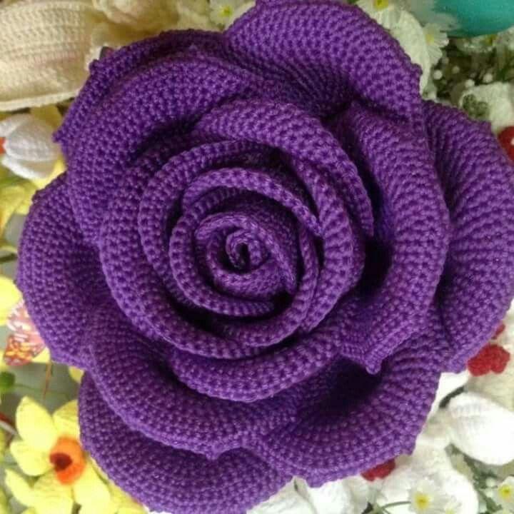 Pin von Tania Dilena auf fiori all\'uncinetto | Pinterest | Blumen ...
