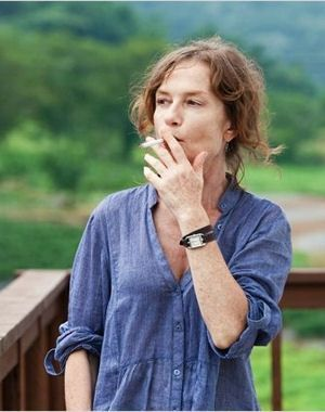 isabelle huppert, dans le film 'in another country'