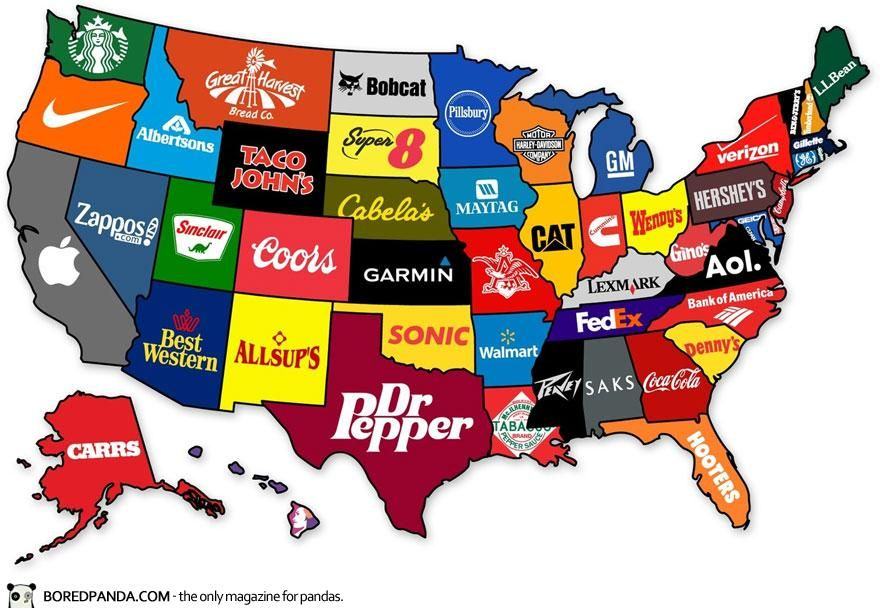 Estados americanos y empresas