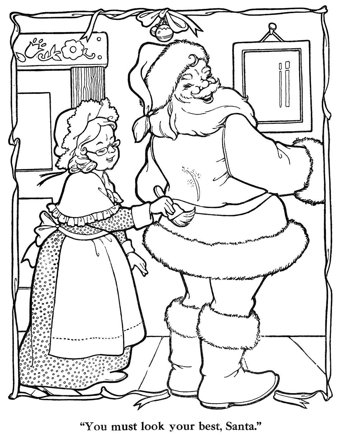 Merry-Christmas-Paint-Book-16 | kleurplaat | Pinterest | Painted ...