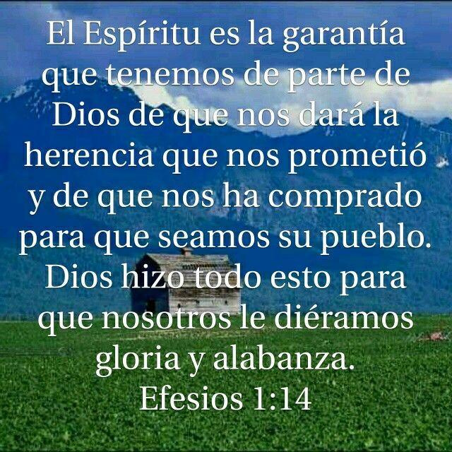 Efesios 1 14 Efesios Alabanza Dios