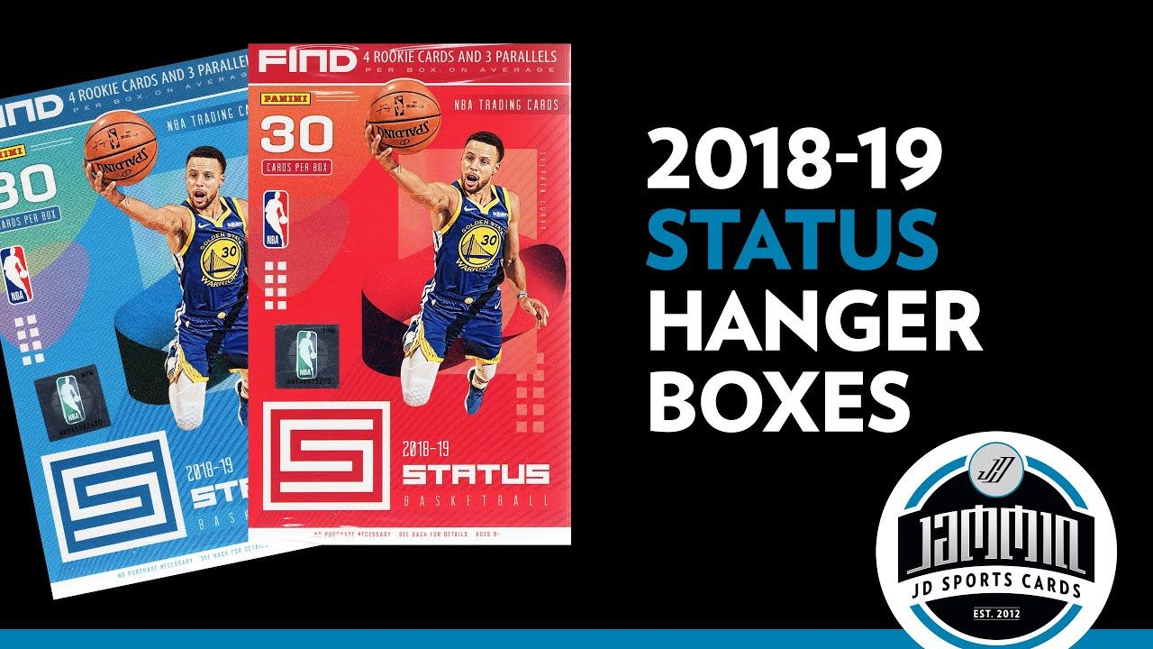 201819 Panini Status Basketball Hanger Box Break Sports