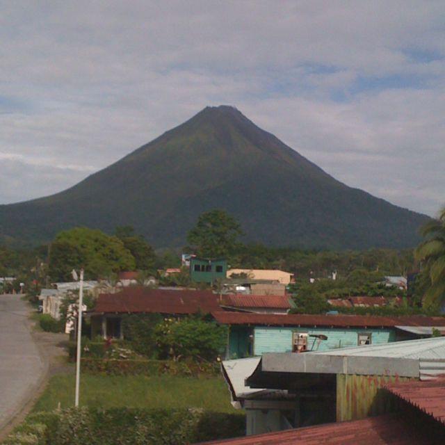 Volcan Arenal, La Fortuna, Costa Rica. Study Abroad Trip 2011 @BarryBartoszek