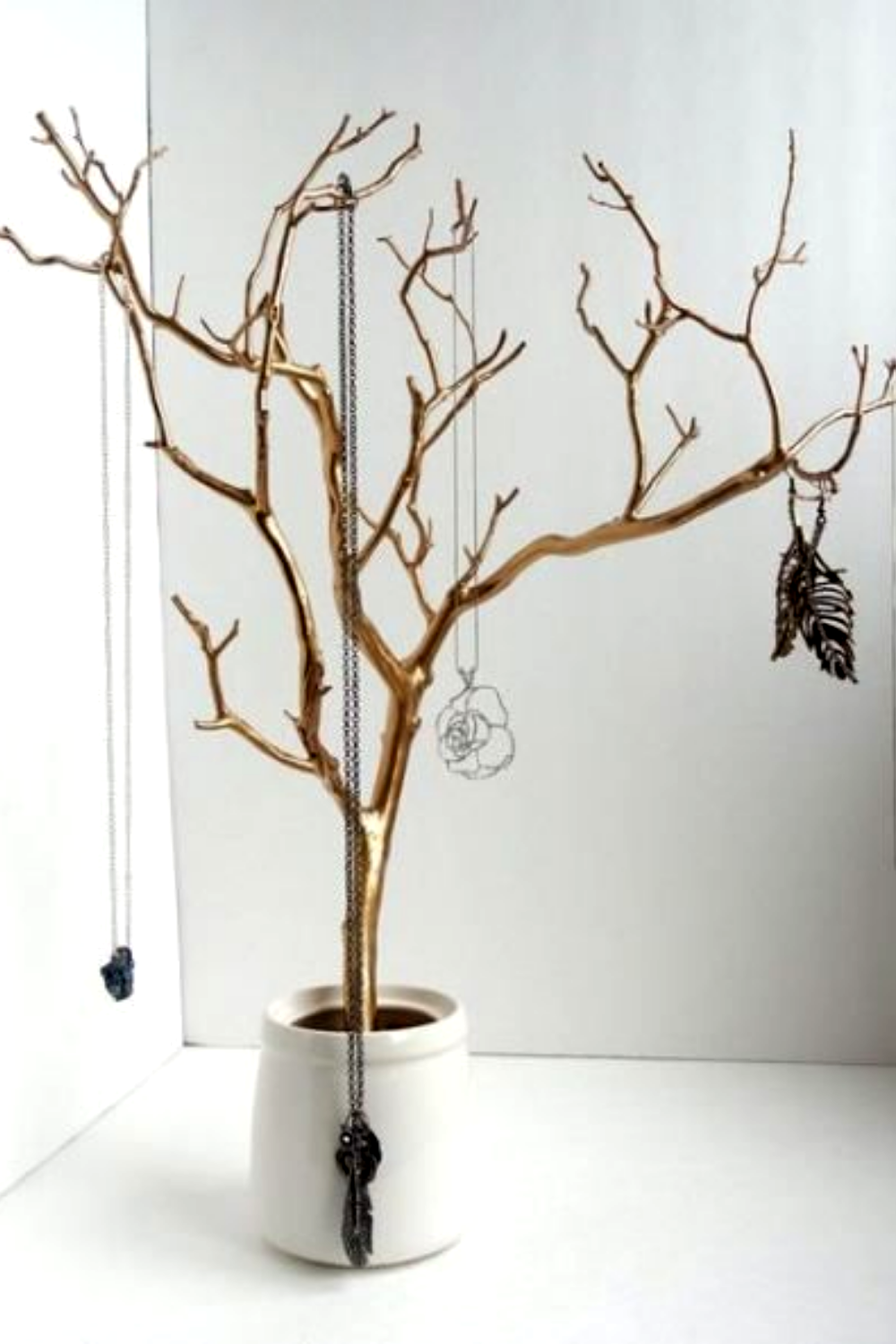 25 Most Creative And Most Relaxed Diy Jewelry Holder Stand Make Life Easy Diy Jewelry Stand Diy Jewelry Holder Tree Diy Jewelry Holder