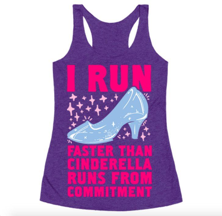 Pin for Later: 33 Pieces of Disney Workout Gear That'll Get You Pumped . . . Princess Style  Cinderella Running Tank ($20, originally $29)