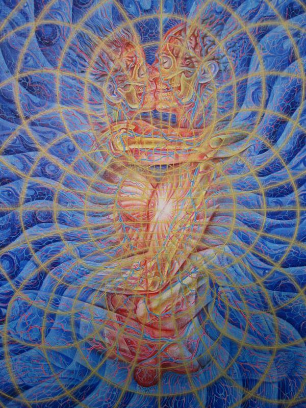 Tantra By Alex Grey Alex Grey Grey Artwork Visionary Art