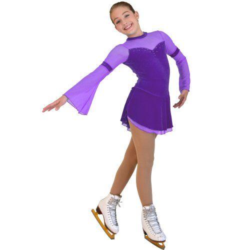 Chloe Noel DLV16 2 Layers Skirt Flare Long-Sleeve Velvet Dress (Purple, Child Extra Large) ChloeNoel http://www.amazon.com/dp/B00GG3TFUQ/ref=cm_sw_r_pi_dp_VMH6tb0FFFEQA