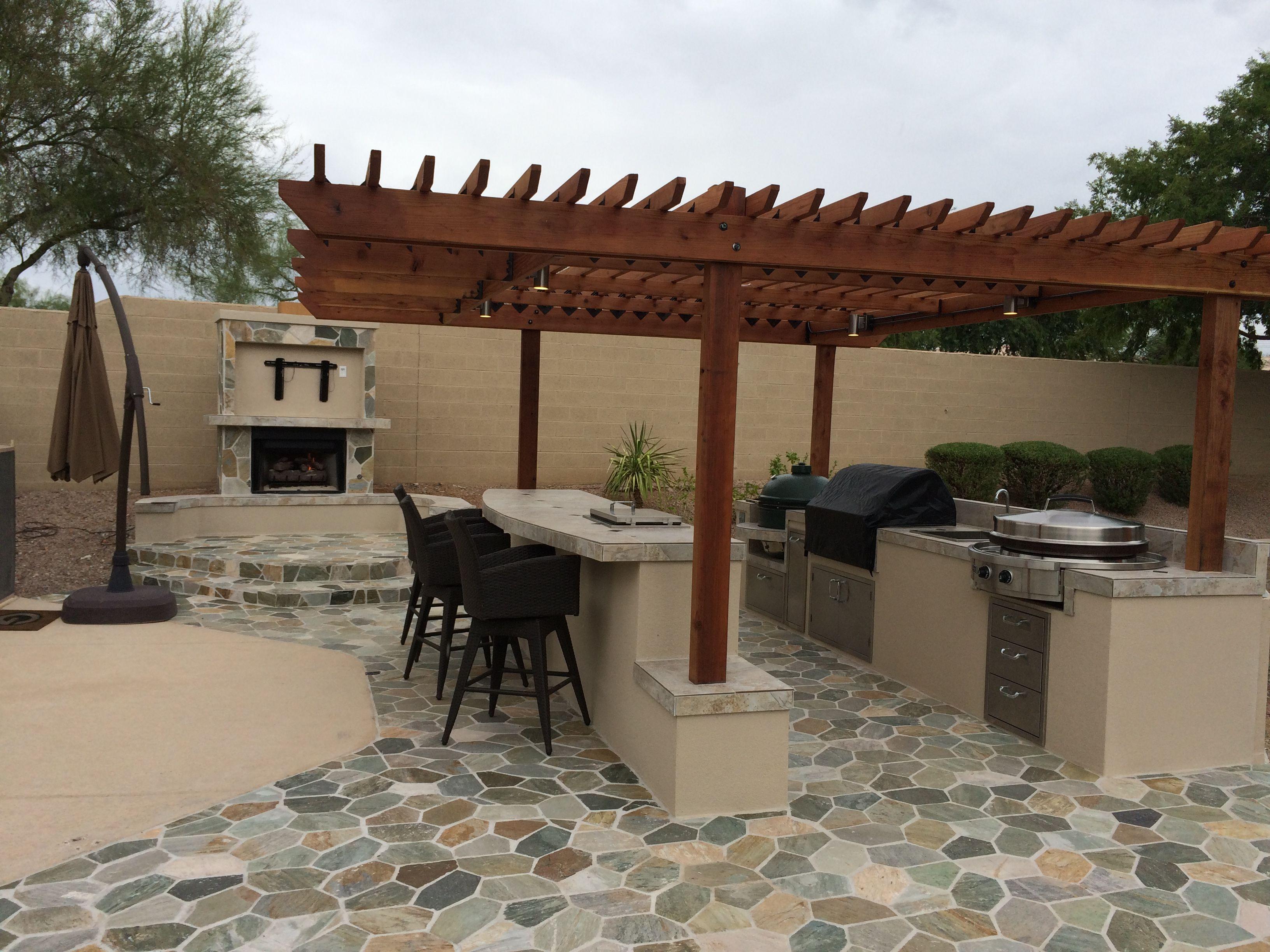 Arizona Outdoor Kitchens Www Jbbqislands Com Backyard Landscaping Designs Outdoor Kitchen Design Backyard Grilling Area