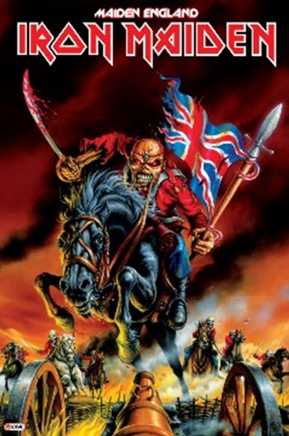 Iron Maiden Maiden England Poster Iron Maiden Albums Iron Maiden Posters Iron Maiden Eddie