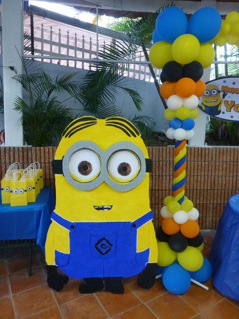 Despicable Me Party Ideas Part - 40: Despicable Me Birthday Party Ideas