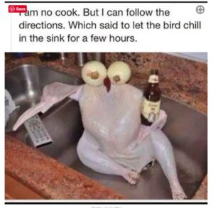 Thankful To Be Prepping For Thanksgiving Malarkey Recipe Happy Thanksgiving Memes Food Memes Funny Turkey Memes