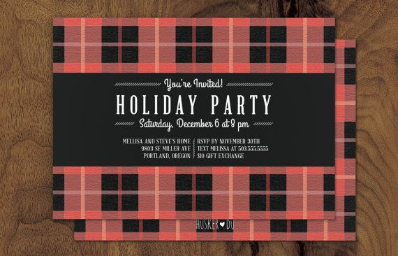 Holiday Party Invitation \ - holiday party invitation