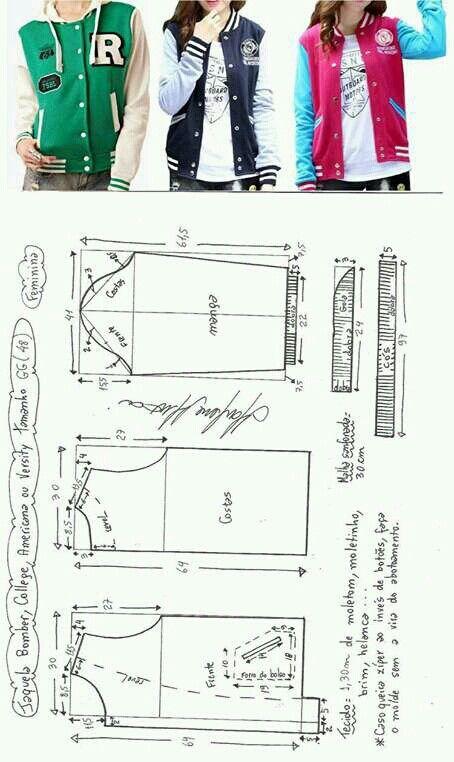 Pin de Monica TC en SasTRe   Pinterest   Patrones, Costura y ...