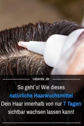 Dein Haar innerhalb von nur 7 Tagen sichtbar wachsen lassen! #naturalcures