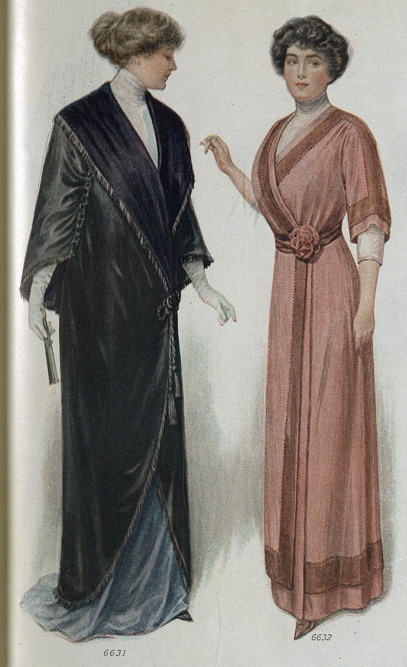 Fashion 1910 to 1920 - Hundred Year Old Fashions For Stout Women Source Ladies Home Journal February