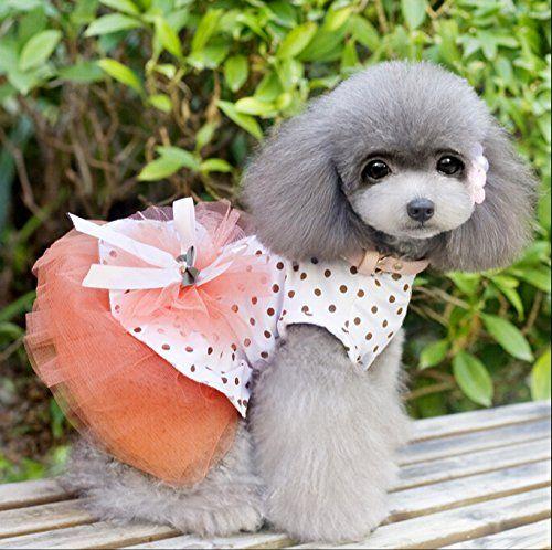 dog flower dress Spring Dog dress dog floral dress dog apparel dog dresses dog clothes