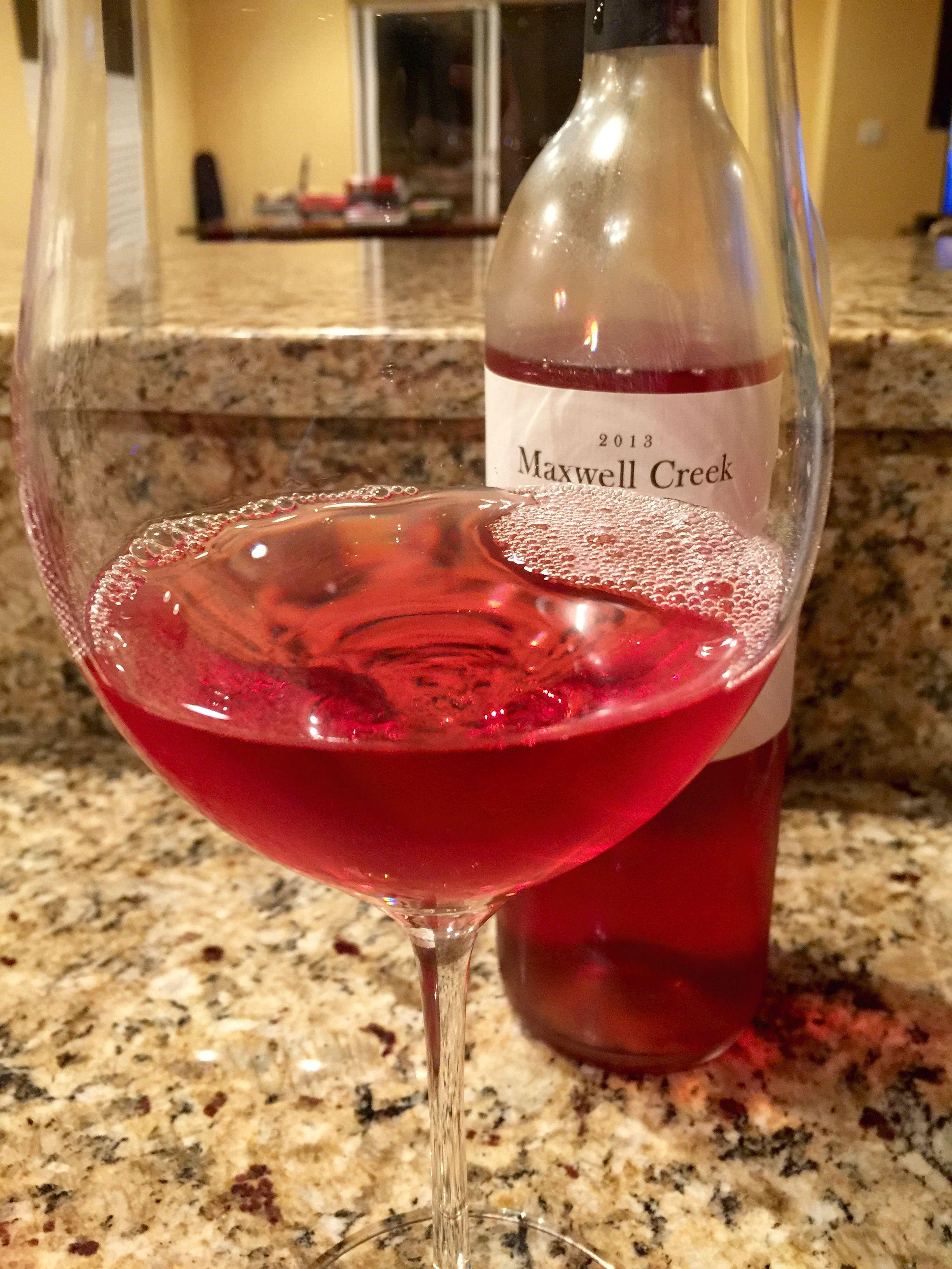 2013 Maxwell Creek Rose Rose Alcoholic Drinks Maxwell