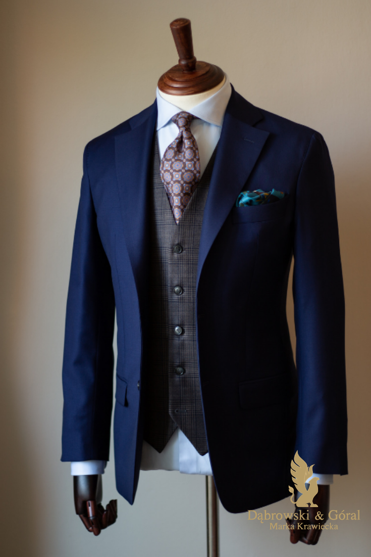 Garnitur Z Kamizelka Fashion Suit Jacket Suits