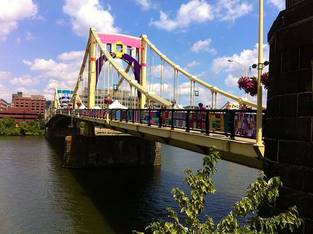 Knit the Bridge/Pittsburgh | Flickr - Photo Sharing!