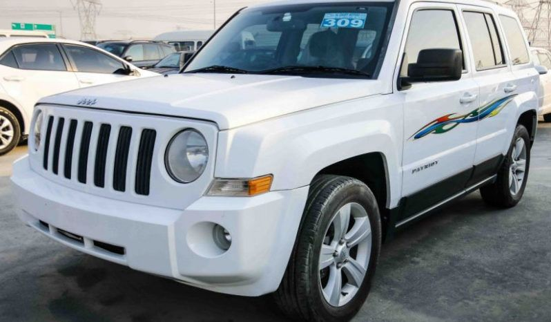 JEEP PATRIOT SPORT PACKAGE 2.0L AUTOMATIC WHITE 2014