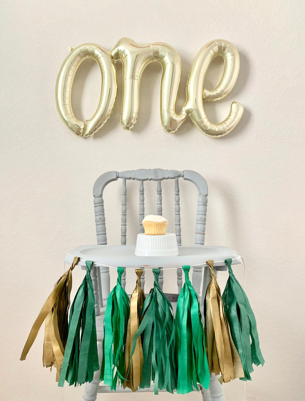 birthday banner high chair garland Highchair banner 1st birthday high chair  banner birthday garland